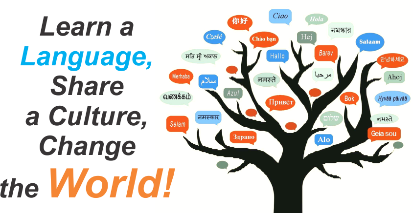 Learn a Language Share a Culture