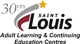 St. Louis Adult Learning and Continuing Education Centres Sticky Logo
